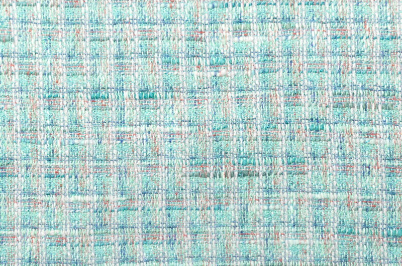 イギリス製【LINTON/リントン】シャネルツィードシルク・ブレンドファンシーツィード10cm単位 生地・布