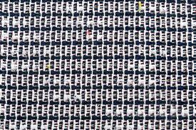 イギリス製 ツイード 輸入生地【LINTON/リントン】シャネルツイードコットン・ブレンドファンシーツイード生地10cm単位