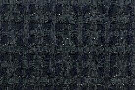 イギリス製 ツイード 生地【LINTON/リントン】シャネルツイードシルク・ブレンドファンシーツイード10cm単位