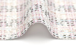 イギリス製【LINTON/リントン】シャネルツィードコットン・ブレンドファンシーツィード50cm単位生地・布*60cm以上お求めの場合には、代金引換をご利用頂けます。備考欄にその旨お書き添え下さい。(別途代引き手数料が必要となります。)