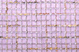 【限定品】イギリス製 ツイード 生地【LINTON/リントン】シャネルツイードウール・リネン・ブレンドファンシーツイード50cm単位