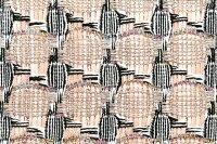 イギリス製ツイード輸入生地【LINTONEXCLUSIVELINE/リントン・エクスクルーシブ・ライン】シャネルツィードコットン・リネン・ブレンドファンシーツィード50cm単位生地・布