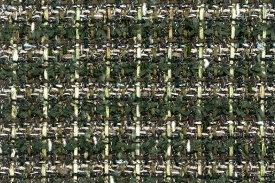 イギリス製 ツイード 輸入 生地【LINTON EXCLUSIVE LINE/リントン・エクスクルーシブ・ライン】シャネルツィードウール・コットン・シルク・ブレンドファンシーツィード10cm