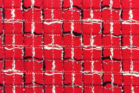 イギリス製 ツイード 輸入 生地【LINTON EXCLUSIVE LINE/リントン・エクスクルーシブ・ライン】シャネルツィードコットン・ブレンドファンシーツィード10cm