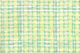 イギリス製 ツイード 輸入 生地【LINTON EXCLUSIVE LINE/リントン・エクスクルーシブ・ライン】シャネルツィードコットン・シルク・ブレンドファンシーツィードはぎれ幅67cmx長さ5cm 生地・布