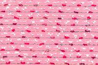イギリス製ツイード輸入生地【LINTONEXCLUSIVELINE/リントン・エクスクルーシブ・ライン】シャネルツィードウール・コットン・モヘア・ブレンドファンシーツィード10cm単位生地・布