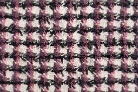 イギリス製 ツイード 輸入生地【LINTON EXCLUSIVE LINE/リントン・エクスクルーシブ・ライン】シャネルツィードウール・カシミア・ブレンドファンシーツイード生地10cm単位 生地・布