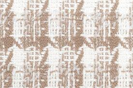 イギリス製 ツイード 輸入生地【LINTON EXCLUSIVE LINE/リントン・エクスクルーシブ・ライン】シャネルツィードウール・コットン・ブレンドファンシーツイード生地10cm単位 生地・布