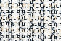イギリス製ツイード輸入生地【LINTONEXCLUSIVELINE/リントン・エクスクルーシブ・ライン】シャネルツィードウール・コットン・ブレンドファンシーツィード10cm単位生地・布