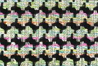 イギリス製ツイード輸入生地【LINTONEXCLUSIVELINE/リントン・エクスクルーシブ・ライン】シャネルツィードコットン・ブレンドファンシーツイード生地10cm単位生地・布