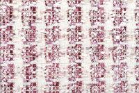 イギリス製ツイード輸入生地【LINTONEXCLUSIVELINE/リントン・エクスクルーシブ・ライン】シャネルツィードヴィスコース・コットンファンシーツィード10cm単位生地・布