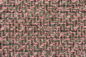 イギリス製 ツイード 輸入生地【LINTON EXCLUSIVE LINE/リントン・エクスクルーシブ・ライン】シャネルツィードウール・コットン・リネン・ブレンドファンシーツィード10cm単位 生地・布