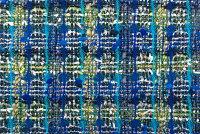 イギリス製ツイード輸入生地【LINTONEXCLUSIVELINE/リントン・エクスクルーシブ・ライン】シャネルツイードウール・コットン・ブレンドファンシーツイード生地10cm単位生地・布