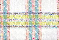 イギリス製ツイード輸入生地【LINTONEXCLUSIVELINE/リントン・エクスクルーシブ・ライン】シャネルツィードコットン・シルク・ブレンドファンシーツイード10cm単位生地・布
