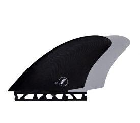 FUTURE(フューチャー)サーフボード用フィン/K2 TWIN KEEL/グラス製