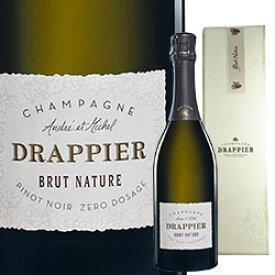 ワイン スパークリング シャンパン 白 発泡 [NV] ドラピエ ブリュット・ナチュール [ボックス付] / ドラピエ フランス シャンパーニュ/ 750ml