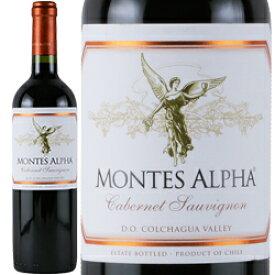 ワイン 赤ワイン 2017年 モンテス・アルファ・カベルネ・ソーヴィニヨン / モンテス S.A. チリ コルチャグア・ヴァレー / 750ml 赤