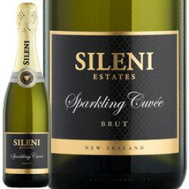 ワイン スパークリング 白 発泡 [NV] セラー・セレクション・スパークリング・ブリュット・シャルドネ(スクリューキャップ) / シレーニ・エステート ニュージーランド / 750ml