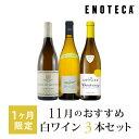 ワイン ワインセット 11月のおすすめ白ワイン3本セット KK11-2 [750ml x 3]