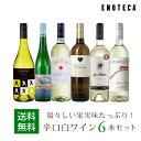 ワイン ワインセット 瑞々しい果実味たっぷり!辛口白ワイン6本セット WW9-2 [750ml x 6]
