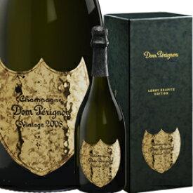 ワイン ドンペリ スパークリング シャンパン 白 発泡 2008年 ドン・ペリニヨン リミテッド・エディション・バイ・レニー・クラヴィッツ [ボックス付] / ドン・ペリニヨン フランス シャンパーニュ / 750ml