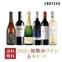 【12月25日以降お届け】ワイン ワインセット初飲みワイン6本セット 重めしっかりタイプ HN12-1 [750ml x 6]