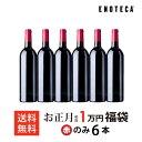 ワイン お正月福袋1万円(赤のみ6本) FO1-1 [750ml×6] 赤ワイン 福袋