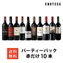 ワイン ワインセット パーティーパック 赤だけ10本 AQ10-1 [750ml x 10] 送料無料