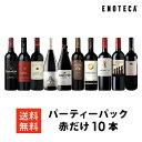 ワイン ワインセット パーティーパック 赤だけ10本 AQ10-2 [750ml x 10] 送料無料