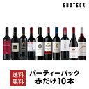 【5/5以降出荷】ワイン ワインセット パーティーパック 赤だけ10本 AQ5-1 [750ml x 10] 送料無料