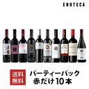ワイン ワインセット パーティーパック 赤だけ10本 AQ5-4 [750ml x 10] 送料無料
