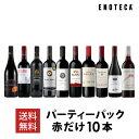 ワイン ワインセット パーティーパック 赤だけ10本 AQ5-5 [750ml x 10] 送料無料