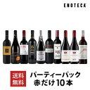 ワイン ワインセット パーティーパック 赤だけ10本 AQ6-1 [750ml x 10] 送料無料