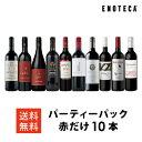 ワイン ワインセット パーティーパック 赤だけ10本 AQ9-3 [750ml x 10] 送料無料