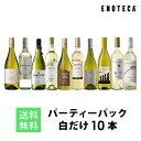 ワイン ワインセット パーティーパック 白だけ10本 BQ11-1 [750ml x 10]送料無料