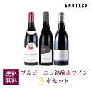 ワイン ワインセットブルゴーニュ銘醸赤ワイン3本セット BR11-1 [750ml x 3] 送料無料