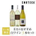 ワイン ワインセット 8月のおすすめ白ワイン3本セット KK8-2 [750ml x 3]
