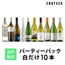 ワイン ワインセット パーティーパック 白だけ10本 RB6-1 [750ml x 10] 送料無料