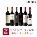 ワイン ワインセット カベルネ・ソーヴィニヨン飲み比べ6本セット VB10-1 [750ml x 6] 送料無料