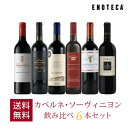 ワイン ワインセット カベルネ・ソーヴィニヨン飲み比べ6本セット VB3-1 [750ml x 6] 送料無料