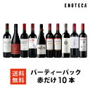 ワイン ワインセット パーティーパック 赤だけ10本 AQ1-1 [750ml x 10]送料無料