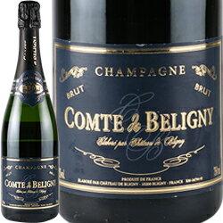ワイン スパークリング シャンパン 白 発泡 [NV]シャンパーニュ・コント・ド・ベリニ / シャトー・ド・ブリニ フランス シャンパーニュ / 750ml