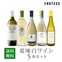 ワイン ワインセット 夏味白ワイン5本セット WR6-3[750ml x 5] 送料無料