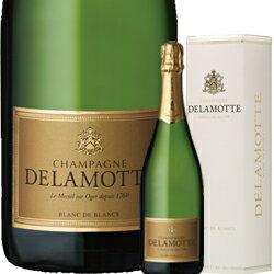 [2007] ドゥラモット・ブリュット ブラン・ド・ブラン [ボックス付] / サロン / ドゥラモット フランス シャンパーニュ(シャンパン) / 750ml / 発泡・白