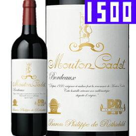 ワイン 赤ワイン 2016年 ムートン・カデ・ルージュ・クラシック [マグナムボトル] フランス ボルドー その他ボルドー 1500ml