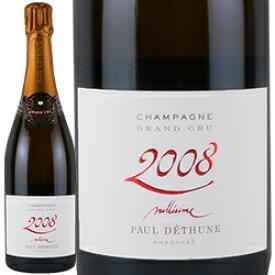 ワイン スパークリングワイン 泡 シャンパン 2008年 ポール・デテュンヌ・ミレジム / ポール・デテュンヌ フランス シャンパーニュ 750ml