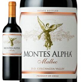 ワイン 赤ワイン 2018年 モンテス・アルファ・マルベック / モンテス S.A. チリ コルチャグア・ヴァレー 750ml