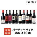 ワイン ワインセット パーティーパック 赤だけ10本 AQ2-1 [750ml x 10] 送料無料