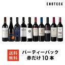ワイン ワインセット パーティーパック 赤だけ10本 AQ3-1 [750ml x 10]送料無料