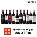 ワイン ワインセット パーティーパック 赤だけ10本 AQ5-2 [750ml x 10] 送料無料